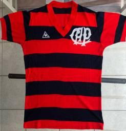 Camisa Atlético Athletico Paranaense Le Coq Sportif 1982