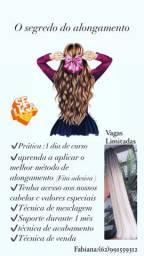 Curso confecção de mega hair fita adesiva