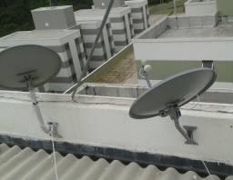 Antenista Profissional em receptores via satélites