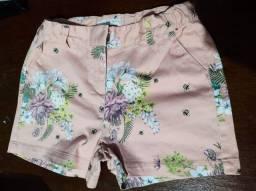 Shorts infantil variados Tam.10