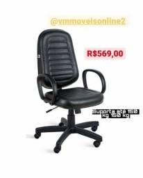 Título do anúncio: Cadeira Office Giratória Últimas Unidades Fazemos Entrega em Goiânia e Aparecida