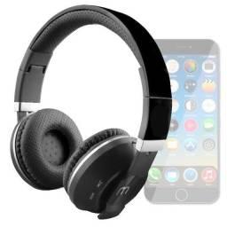 Fone Bluetooth sem Fio Wireless - Aceita Cartão de Memória