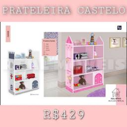 Prateleira infantil castelo / prateleira infantil castelo
