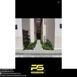 (Térreo) Apartamento com 2 dormitórios à venda, 55 m² por R$ 95.000 - Cristo Redentor - Jo