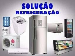 Manutenção de geladeira