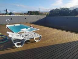 Casa com 03 quartos, piscina, churrasqueira, lado da lagoa, próximo do Bombeiro e Detran