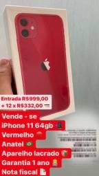 iPhone 11 64gb lacrado com nota