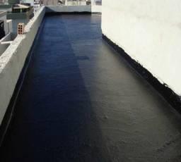 Colocação de mantas-impermeabilização em geral