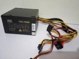 Fonte de Computador/Desktop LMS Power de 750 Watts (750W) com 3 meses de garantia