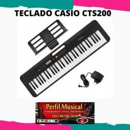Teclado Casio cts200 iniciante em promoção frete grátis em fortaleza