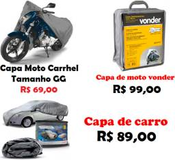 Capa para Cobrir Moto ou Capa de carro. Leia o Anúncio F. 98876.3162 Helena