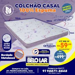 Colchão Ortobom Casal De Espuma, Compre no zap *