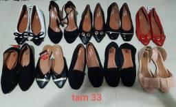 Sapatos novos feminino