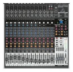 Mesa de som Behringer Xenyx X2442USB (Mixer Instrumentos Musicais)