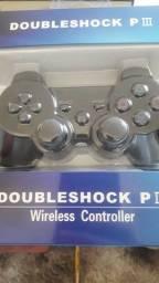 Título do anúncio: Controle sem fio PlayStation 3 novo lacrado