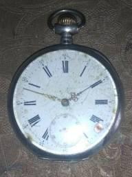 Relógio de Bolso Spiral Brequet - Prata 800
