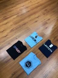 Kit 4 Camisas por R$ 90,00
