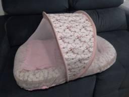 Título do anúncio: Ninho berço Portátil bebê com colchão e travesserio anti alérgico