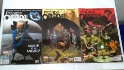 Hq Marvel - Pecado Original do 000 ao 002