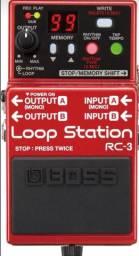 Pedal loop station Boss RC - 3