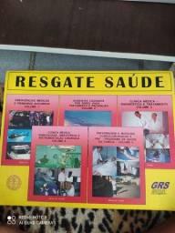 Kit com 5 Livros Resgate e Saúde