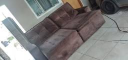 Vendo Sofá Retrátil e Reclinável 2,50m