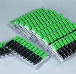 2000 pcs conector para fibra óptica ftth sc-apc single mode