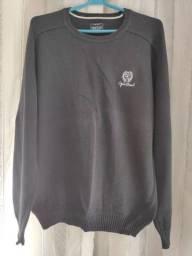 blusão preto de malha ogochi G