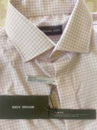 Camisa masculina social Michael Kors