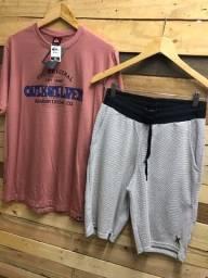 Moletom + Camiseta R$ 55 no dinheiro