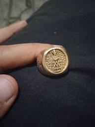 Anel moeda antiga