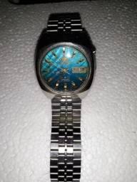 Ótimo relógio orient Masculino Automático 3 estrelas Azul