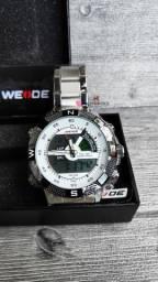 Relógio Premium à pronta entrega! Novo e com garantia! C/ caixa de brinde!