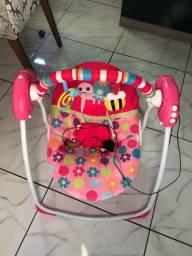 Cadeirinha de descanso para bebê elétrica