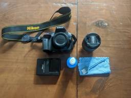 Câmera Fotográfica Nikon D3400