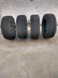 Aro 20 com pneus Hilux! $4,500$ * jaderson