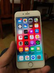 IPHONE 6s 64 gigas  gold( aceito trocas )