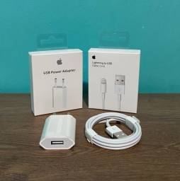 Carregador e cabo para Iphone USB Original Apple c/ garantia