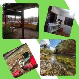 Título do anúncio: Espaço para lazer em estrada de Chapada com acesso ao rio