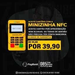Minizinha nfc PagSeguro (A melhor maquininha bluetooth da PagSeguro)