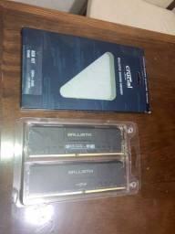 2x4 GB Crucial Ballistix 2400 MHz