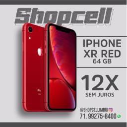 Título do anúncio: iPhone XR red - 12x sem juros