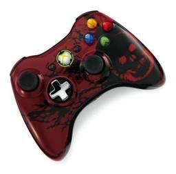 Controle Xbox 360 Edicao Especial Novo Orig.sem Caixa Red,,.