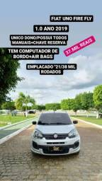 FIAT UNO FIRE FLY/ANO 2019/MOTOR 1.0 COMPLETO