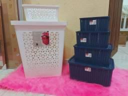 Kit organizador + 1 cesto