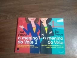 Livros: Bel Pesce - A menina do vale + A menina do vale 2