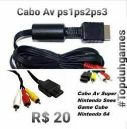 Título do anúncio: Cabos Av Video Games