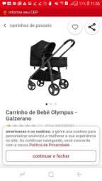 Carrinho de Bebê Galzerano Travel System Olympus