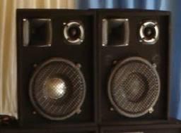 Par caixas de som auto falante 12 polegadas