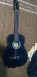 Vendo violão Kashima preto + Capa proteção